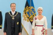 Бывшая первая леди Эстонии торговала бутербродами