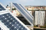 Первая солнечная электростанция на крыше многоэтажки