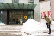 Нардеп Гончаренко хулиганил под немецким посольством