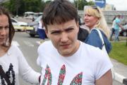 Надежда Савченко на свободе!