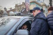 """Черновол """"захватила"""" автомобиль возле Рады"""