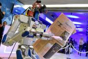 Робот-гуманоид Hubo участвовал в Давосе