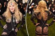Мадонна снова шокировала откровенным нарядом