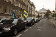 Бессрочный протест владельцев авто на еврономерах