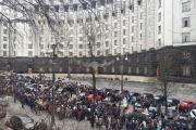 5-тысячная колонна движется к Верховной Раде