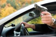 В Киеве один водитель выстрелил в другого
