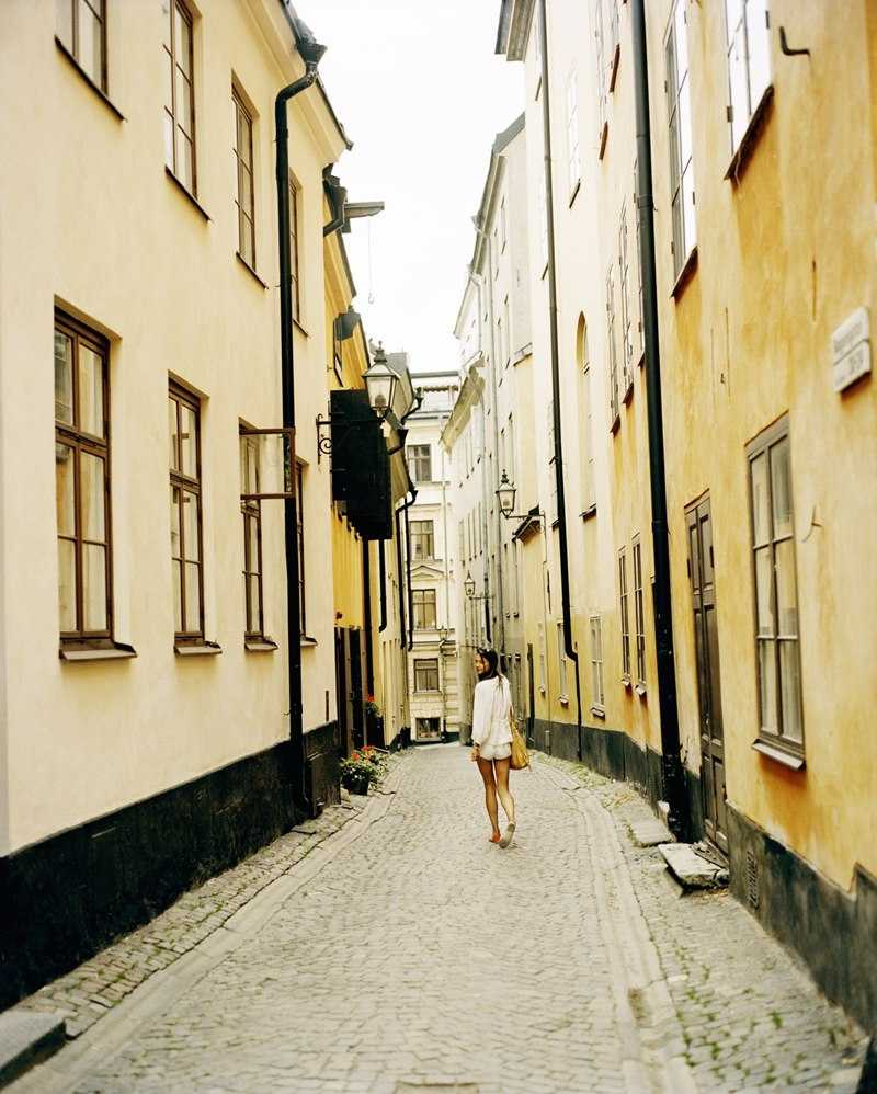 All alone in Stockholm's Old Town